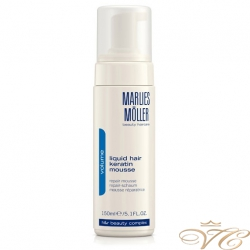 "Мусс восстанавливающий структуру волос ""Жидкий кератин"" Marlies Moller Liquid Hair Keratin Mousse"